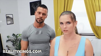 Curvy (Taylee Wood) Loves A Steamy Workout Her Personal Trainers Big Cock Between Her Big Boobs - Reality Kings 11 min