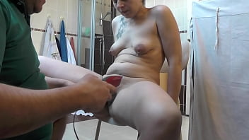Sexymandy's extreme fat hairy pussy&big fat asshole trimming 11 min