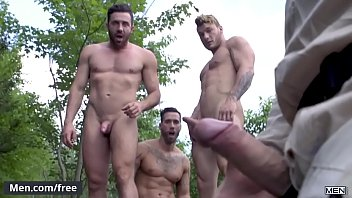 Alexy Tyler and Jessy Bernardo and Mateo Sanchez and William Seed - Exposure Part 3 - Jizz Orgy - Trailer preview - Men.com