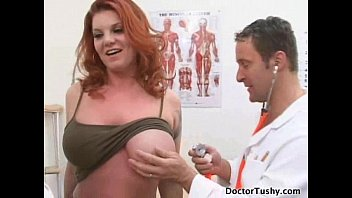 KAYLA QUINN GET NUDE FOR HER EXAM AND PAP SMEAR ANAL EXAM BY TWO DOCTORS Thumb