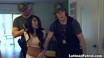 Real petite latina fucked by officer