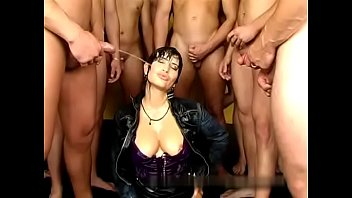 gangbang and piss orgy for that woman