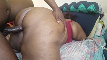 WATCH THIS EBONY MILF AS SHE THROWS HER BIG ASS ALL OVER HIS BLACK BBC