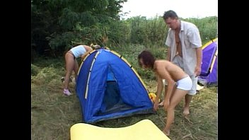 Summer trip camp for teens Dirty whore getting fucked on camp site