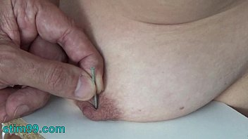 Forced enema orgasm - Extreme needle torment bdsm and electrosex. nails and needles tortured