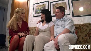 German milfs sharing a lucky dude - 69VClub.Com