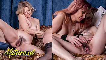 MatureNL - Three Girlfriends Eating Out Each Others Hairy Pussies 11 min