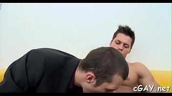 Gay stud thumbs Cute stud gets an dirty anal drilling from slutty hunk