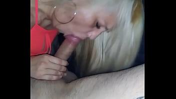 Ex girlfriend slurping my dick