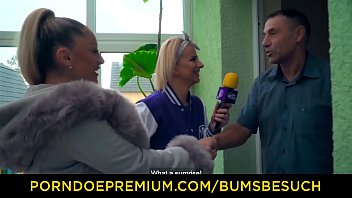 BUMS BESUCH - Professional babe gives dude awesome first porn porn german