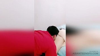BEAUTIFUL Chinese girlfriend is being licked and fucked on camera