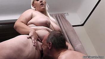 Horny Husband Caught Cheating With Blonde Bbw
