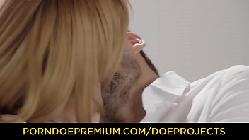 FACE STRAPPED - Beauties Izzy Delphine and Anny Aurora cum hard in fetish FFM fuck