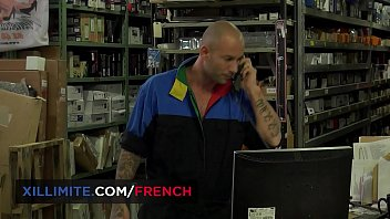 Emy Russo, hardcore sex with the mechanic 10 min
