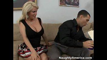 YouPorn - Busty BLonde Cougar Fucks A Hard Young Cock
