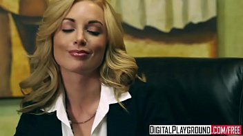 kayden kross sexy blonde boss wants her pussy licked at work digital playground