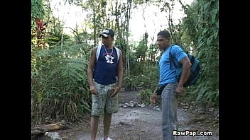 Latino Gays Getting It On Outdoors