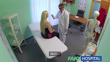 FakeHospital Sexual therapy causes new patient to squirt uncontrollably porn image