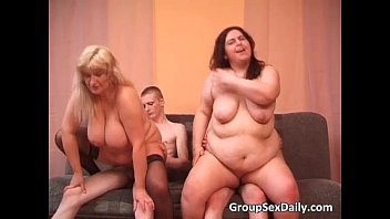 Two big breasted fat sluts having sex