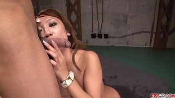Ryo Akanishi takes good care of cock in hardcore show - More at Pissjp.com