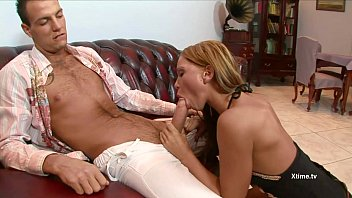 Horny blonde buggered from behind thumbnail