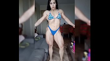 Big muscles girl 83