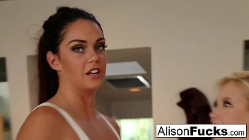 Tyler saint fisted First time meeting then fucking with alison tyler and samantha saint