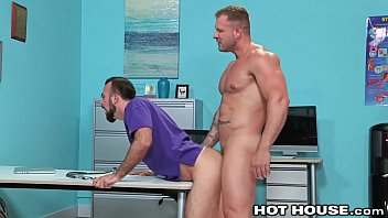 Paradise gay district guest house Muscle hunk daddy doctor austin wolf rough fucks hairy employee