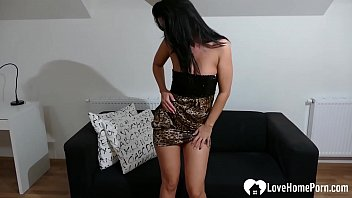 Secretary puts on a show with a toy 8 min