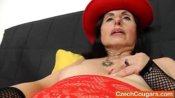 Adult club videos - Brunette wife plays plus a adult toy