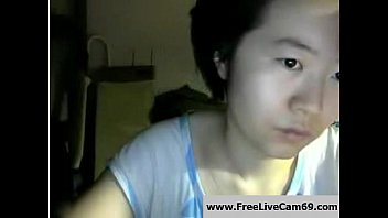 Plain Looking Asian Lady Not Shy to Flash on Cam: Porn 2d