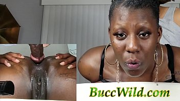 NEW Ghetto Girl First Time ANAL.....BuccWild and Dazzling Tazzy