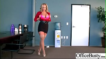 (Olivia Austin) Big Tits Sluty Girl In Hardcore Sex In Office clip-23
