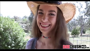 Skinny And Horny Cowgirl Teen Step Daughter Tali Dova Fucked By Step Dad POV