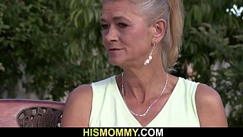 y. and old blonde mom