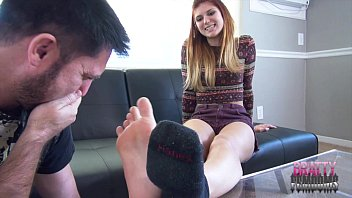 Hairy stinky Zoes stinky foot sniffing payment smelly feet humiliation