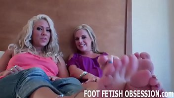 We will allow you to worship our perfect feet