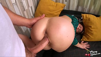 Blonde Blowjob Big Cock and Anal Sex on the balcony