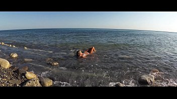 Nude driver Travel show ass driver - sasha bikeeva in russia. black sea, wild beaches