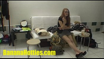 Redhead artist at her first casting - 69VClub.Com