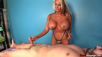 Hotwife makes sexy asmr talk while doing a handjob with pearls 10