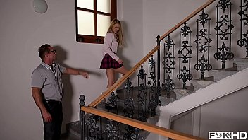 Threesome xxx porn - Schoolgirl lucy heart rides teachers principals cocks in xxx threesome