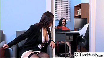 Office Girl (Abby Lee Brazil & Valentina Nappi) With Big Round Melon Tits Like Sex mov-01