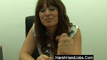 Brunette boss takes it out on employee preview image