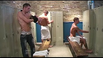 Young Bath House Threesome