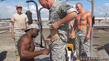 Military men having sex