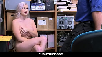Emily Right Gets Her Pussy Fucked by A Security Officer