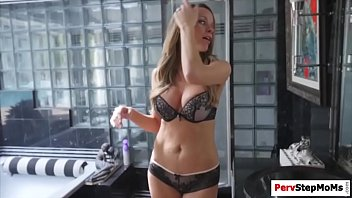 Busty Stepmom one last fuck with stepson