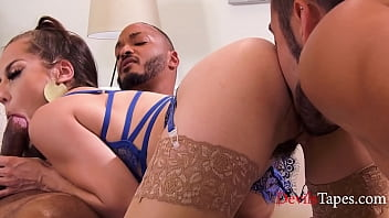 Wife Joins Bisexual Husband And His Lover