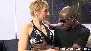 Milfs and black sex Hot cougar gemma more offers anal sex to black man